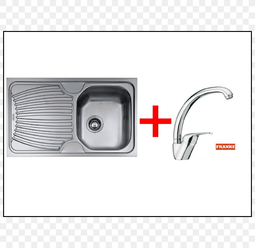 Kitchen Sink Franke Kitchen Sink Stainless Steel, PNG, 800x800px, Sink, Building Materials, Countertop, Edelstaal, Franke Download Free