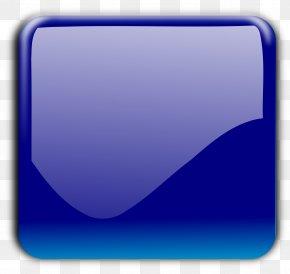 Buttons - Cobalt Blue Aqua Azure Electric Blue PNG