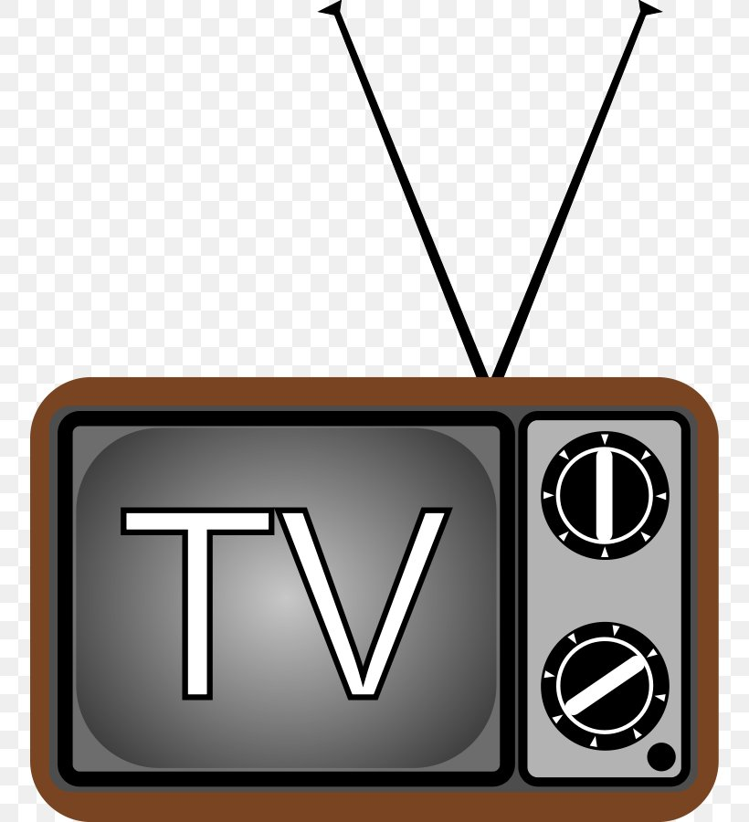 Television Free-to-air Clip Art, PNG, 754x900px, Television, Brand, Cartoon, Free Content, Freetoair Download Free