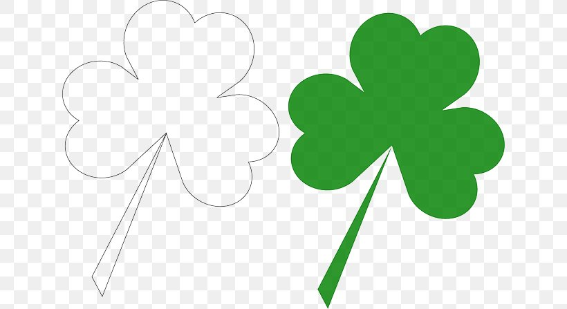 Ireland Shamrock Saint Patrick's Day 17 March Clip Art, PNG, 640x447px, 17 March, Ireland, Flower, Flowering Plant, Green Download Free