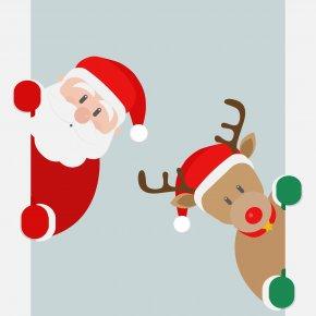 Santa Sleigh - Santa Claus Christmas Public Holiday New Year's Day PNG