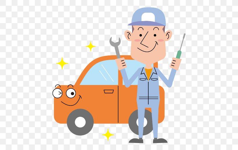 Used Car Motor-vehicle Inspection Kei Car Auto Mechanic, PNG, 519x519px, Car, Art, Auto Mechanic, Cartoon, Construction Worker Download Free