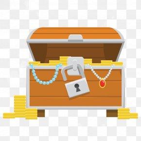 Vector Jewelry Box - Treasure Piracy U5b9du7bb1 PNG