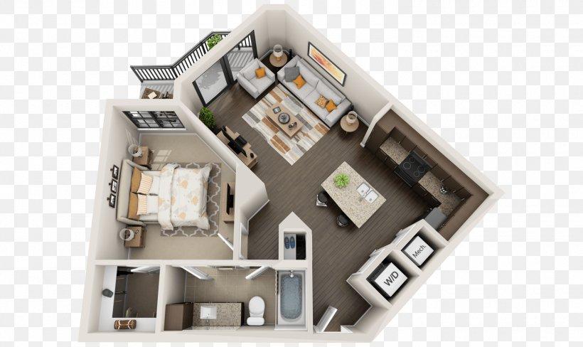 3D Floor Plan Studio Apartment House, PNG, 1500x894px, 3d ...