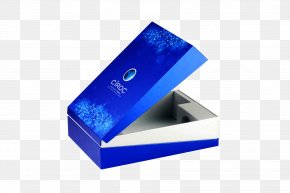Blue Technology - Color Printing Blue Box PNG