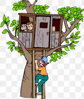 House - Tree House Building Clip Art PNG