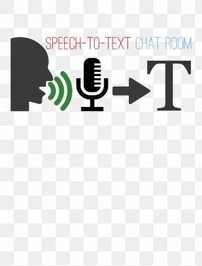 Speech Text - Text Sound Translation Typing Computer PNG