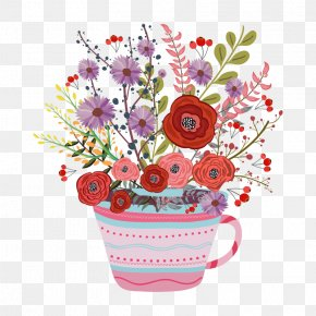 Watercolor Flower Bouquet - Vector Graphics Stock Illustration Watercolor Painting Flower PNG