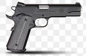Laser Gun - Springfield Armory .45 ACP M1911 Pistol Automatic Colt Pistol PNG