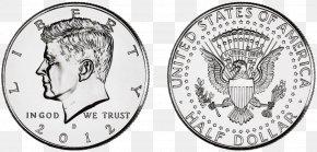 Coin - Kennedy Half Dollar United States Dollar Dollar Coin Penny PNG