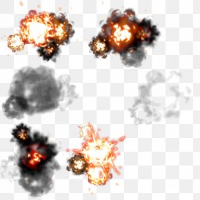 Games Blasting Effect - Explosion PNG