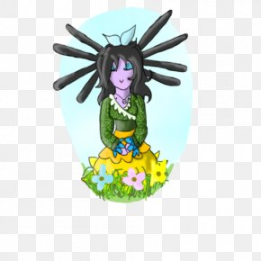 Footpath Among Flowers - Figurine Fairy Doll Legendary Creature Cartoon PNG
