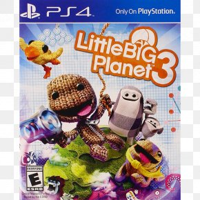 Playstation - LittleBigPlanet 3 PlayStation 3 PlayStation 4 Video Game PNG