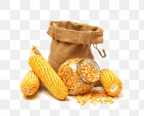 Corn And Corn Kernels - Maize Corn Kernel Sweet Corn Cereal Grain PNG