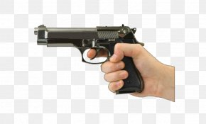 Gun In Hand Photos - Firearm Pistol Handgun PNG