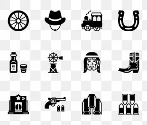 Wild West - Icon Design Logo Clip Art PNG