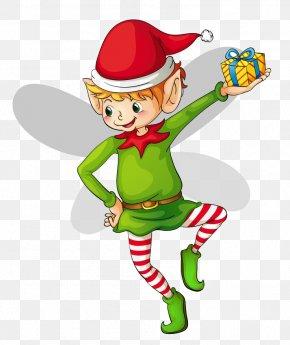 Elf Clipart - The Elf On The Shelf Santa Claus Clip Art PNG
