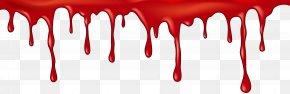 Halloween Bloody Line Clip Art - Halloween Knife Clip Art PNG