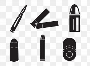 A Variety Of Shapes Bullets And Bullet Casings - Shotgun Shell Bullet Clip Art PNG