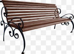 Park Bench - Bench Table Garden PNG
