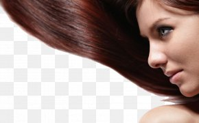 Hair Model - Hairstyle Model Cosmetics Long Hair PNG