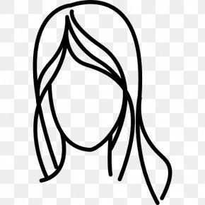 Long Hair - Long Hair Woman PNG