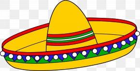 Cartoon Sombrero - Sombrero Straw Hat Jarabe Tapatxedo Clip Art PNG