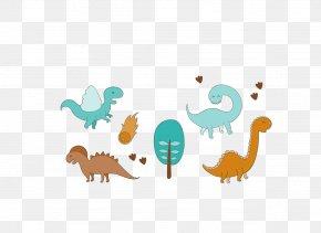 Vector Dinosaurs - Tyrannosaurus Dinosaur Euclidean Vector Download PNG