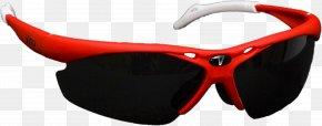 Red Frame Glasses - Goggles Sunglasses Baseball Glove PNG