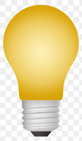 Light Bulb Vector - Incandescent Light Bulb PNG