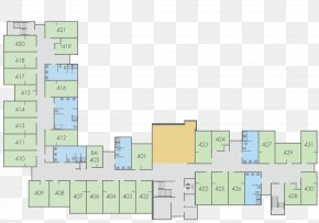 Layout Plan - Floor Plan Building Potter Hall Room PNG