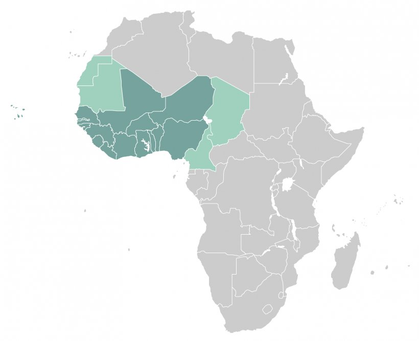 North Africa Vector Map ConceptDraw PRO, PNG, 1764x1436px ...
