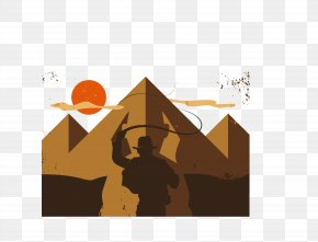 Vector Pyramid Tomb - Flag Of India Illustration PNG