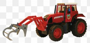 Excavator - Tractor Car Toy Clip Art PNG