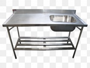 Table - Table Sink Stainless Steel Kitchen Industry PNG