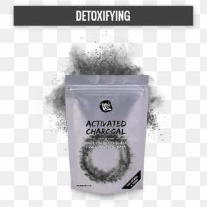 Activated Charcoal - Activated Carbon Powder Food Charcoal PNG
