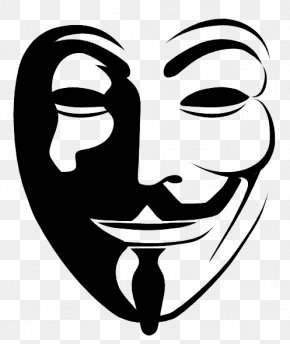 V For Vendetta Transparent Image - Anonymous Icon PNG