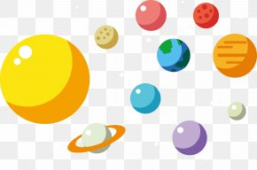 Sun Galaxy Vector - Earth Adobe Illustrator Clip Art PNG