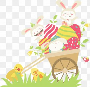 Rabbit - Easter Bunny Rabbit Chicken Clip Art PNG