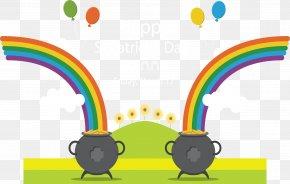 Seven Color Rainbow Festival Carnival - Rainbow Euclidean Vector PNG