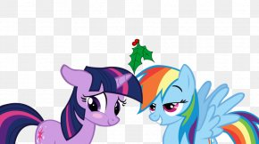 Mistletoe - Rainbow Dash Twilight Sparkle My Little Pony YouTube PNG
