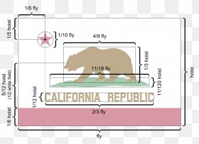 Rainbow - California Republic Flag Of California Rainbow Bear PNG