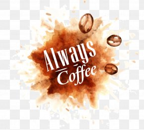 Vector Coffee Beans And Coffee Stains - Coffee Cafe Stock Photography Shutterstock PNG