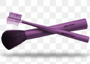Purple Makeup Brush Material - Cosmetics Makeup Brush Make-up PNG