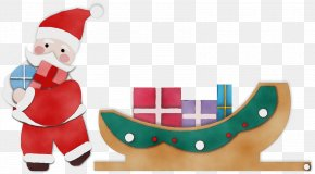 Christmas Stocking Holiday - Santa Claus PNG