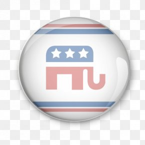 United States - United States Logo Republican Party Badge PNG