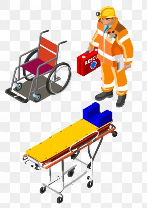 Firefighters Ambulance - Firefighter Ambulance Wheelchair PNG