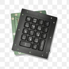 Numeric Keypad - Computer Keyboard Numeric Keypads Space Bar Laptop Electronics PNG
