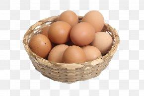 Egg - Duck Chicken Egg In The Basket Breakfast PNG