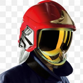 Firefighter - Firefighter's Helmet Firefighter's Helmet Hard Hats Personal Protective Equipment PNG